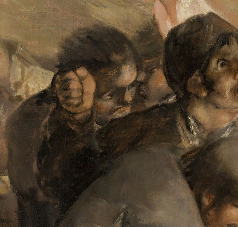 Francisco de Goya, 3 Mei 1808, [detail] Beeld Museo del Prado