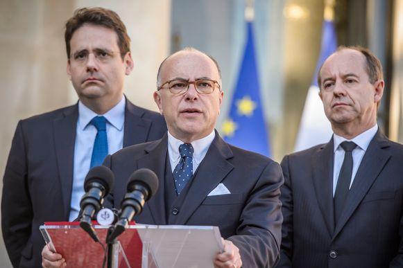 De Franse premier Cazeneuve.