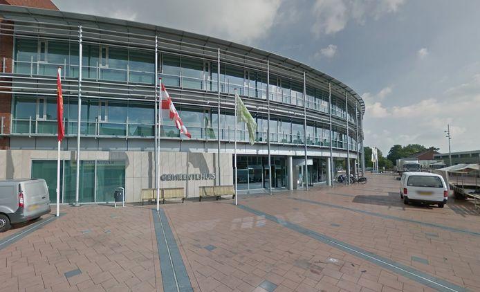 Het gemeentehuis van Boxmeer.