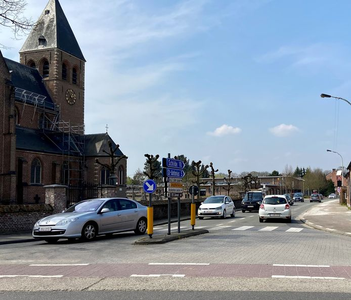 De Kerkstraat is weer toegankelijk in beide richtingen