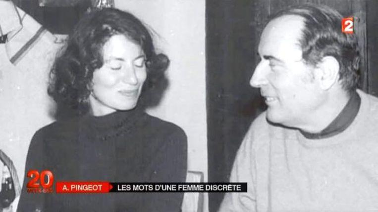 ► Anne Pingeot en François Mitterrand. Zij hadden 33 jaar een relatie. Beeld rv