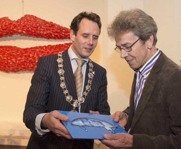 Wim Wassenaar kreeg vorig jaar de Piet Dijkstraprijs. foto Ruben Schipper