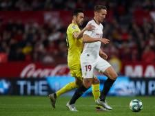 Gewisselde Luuk de Jong ziet Sevilla zich terugknokken én verliezen