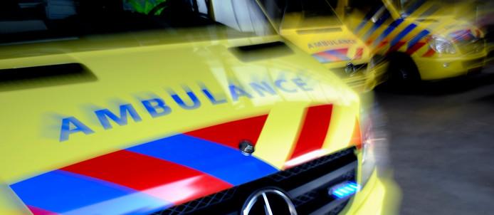 Ambulancedienst RAV IJsselland gaat vervoer personen met verward gedrag verzorgen. ANP XTRA LEX VAN LIESHOUT