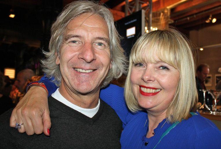 Lorenze Ledel (van Vision Magazine) en journalist Karen van Ede halen herinneringen op.  <br /> Beeld