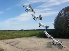 Drone uit Delft vliegt op waterstof en stijgt verticaal op