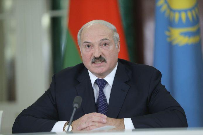 Wit-Russisch president Aleksandr Loekasjenko.