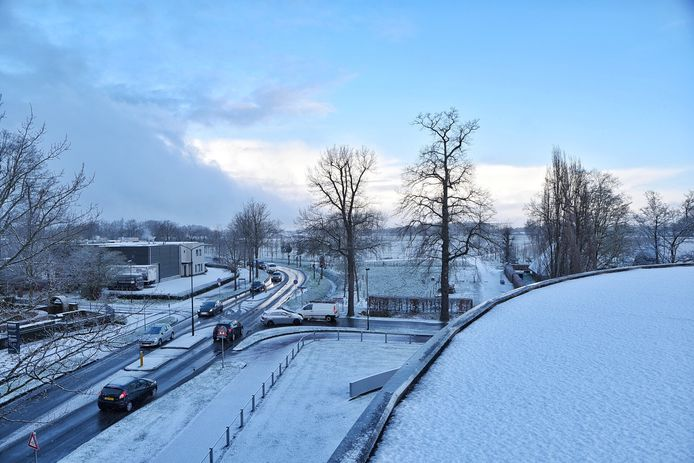 Oisterwijk kleurt wit.