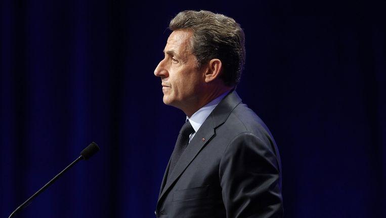 Nicolas Sarkozy Beeld reuters