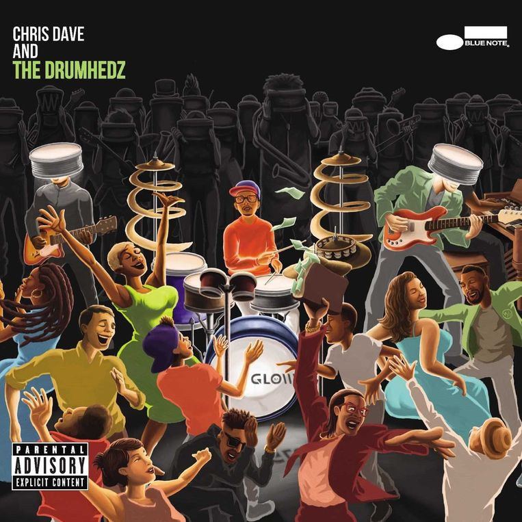 Chris Dave and the Drumhedz - Chris Dave and the Drumhedz Beeld rv