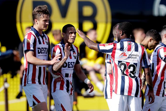 Willem II verliest van Borussia Dortmund.