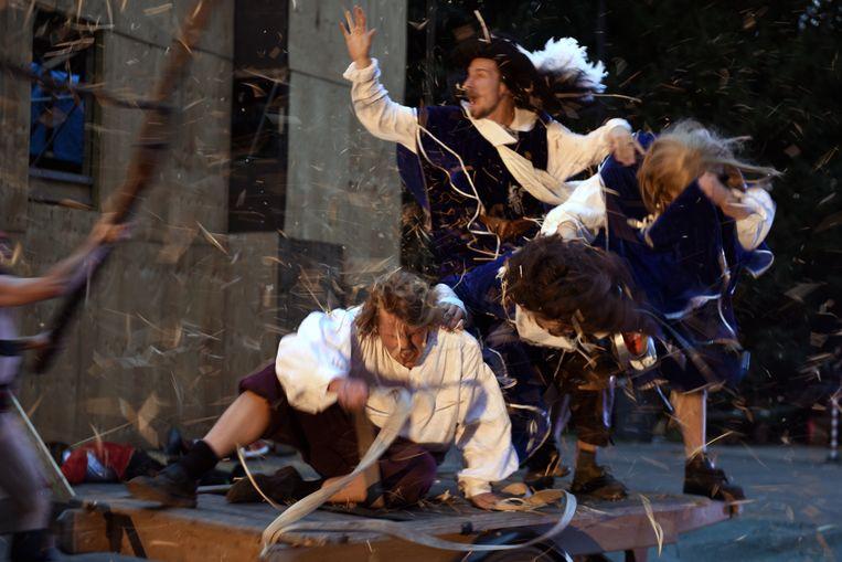De Drie Musketiers in het Amsterdamse Bostheater.  Beeld Sofie Knijff