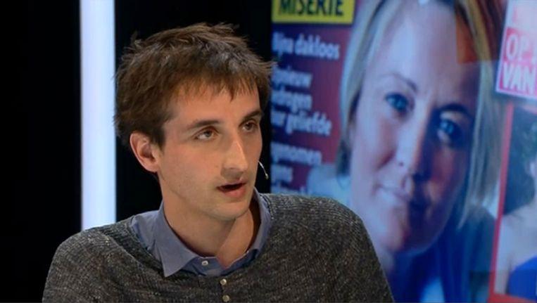Frederik De Swaef in 'Terzake'. Beeld VRT