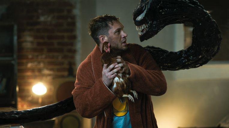 Tom Hardy als Eddie Brock/Venom. Beeld Sony