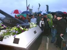 De op zee gebleven vissers zullen in Breskens nooit worden vergeten
