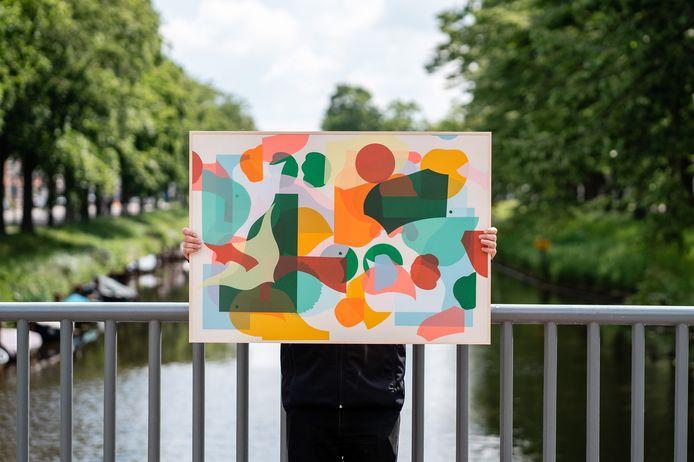 Blind Walls Gallery opent galerie in Terheijdenstraat met te kopen werk 'eigen' streetartist.