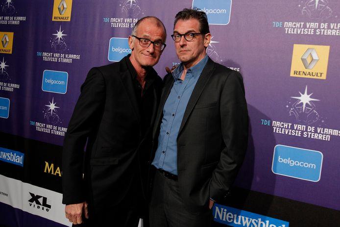 Ray Cokes en Rob Vanoudenhoven.