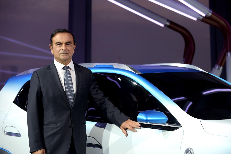 Carlos Ghosn. Beeld AFP