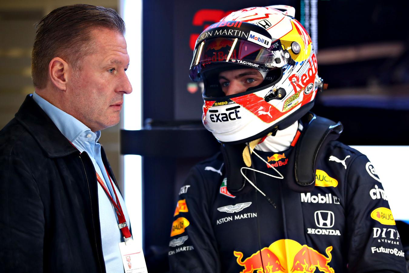 Jos Verstappen en Max Verstappen.