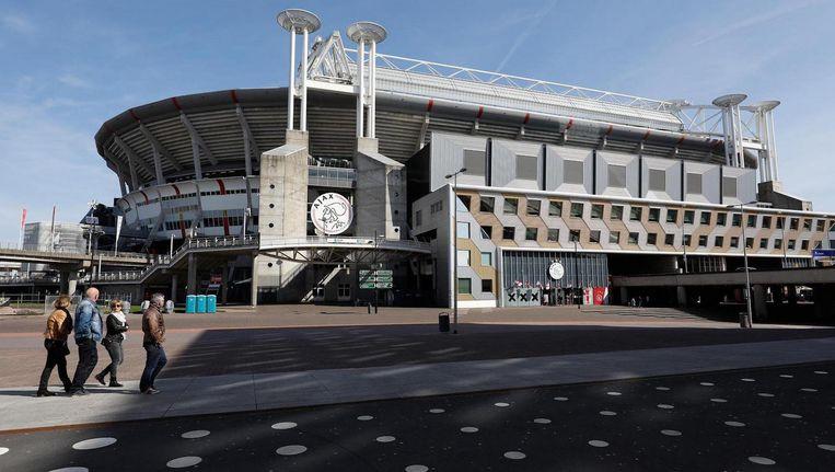 De voetbalsters zelf willen dolgraag een keer in de Johan Cruijff Arena of De Kuip spelen Beeld ANP
