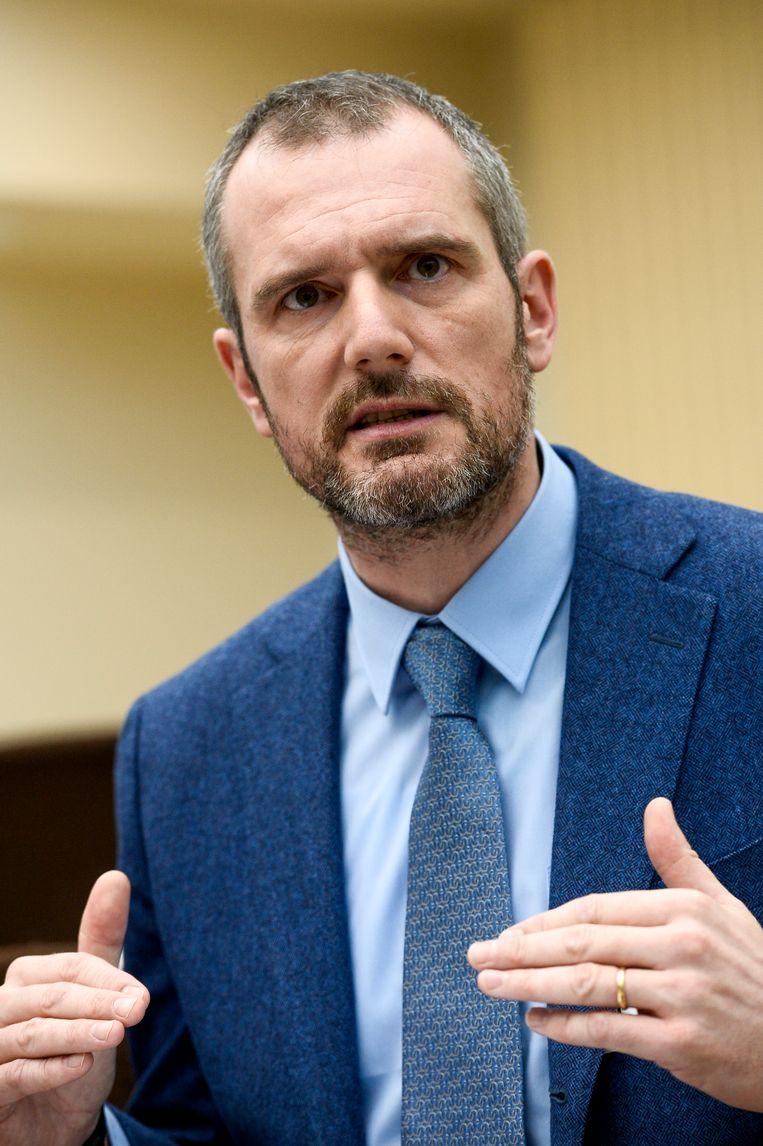 Voorzitter van de Vereniging van Onderzoeksrechters Philippe Van Linthout.  Beeld BELGA