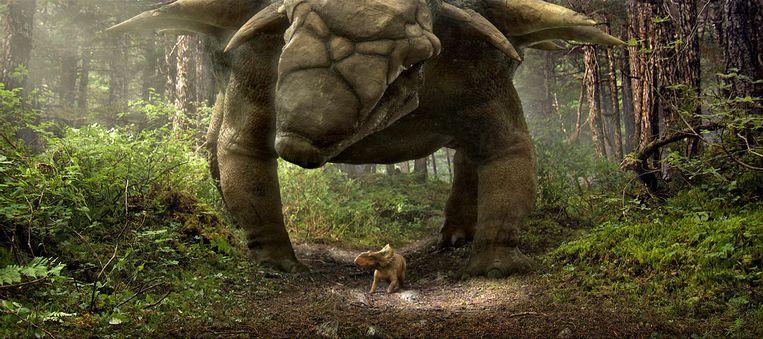 Beeld uit Walking with Dinosaurs van Barry Cook en Neil Nightingale Beeld
