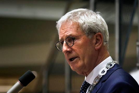 Burgemeester Jac Klijs in 2018