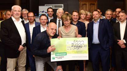 Rotary schenkt cheque van 2.000 euro aan G-Sport Pajottenland