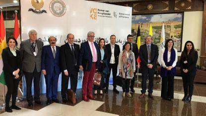 Schepen Marinower op economische missie in Iraaks-Koerdistan