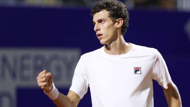 Jonge Argentijn Cerundolo doet op zijn eerste ATP-toernooi wat Djokovic, Nadal en Federer niet konden