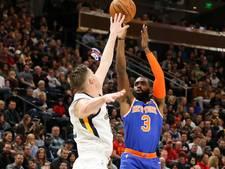 Hardaway schiet Knicks naar zege op Utah Jazz