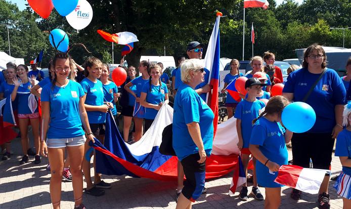 EK Agility geopend met prachtige intocht van alle deelnemers in Roosendaal