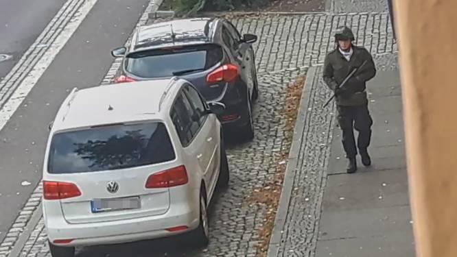 """Dader aanslag Halle publiceerde antisemitisch manifest online: """"Zoveel mogelijk niet-blanken doden, liefst Joden"""""""