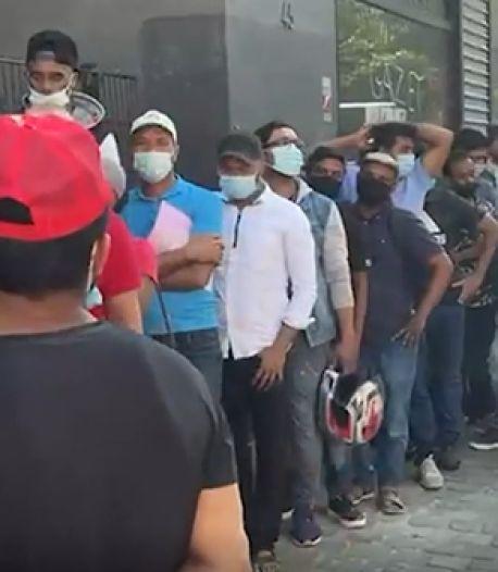 Afflux de sans-papiers devant la zone neutre: Sammy Mahdi annonce sa fermeture