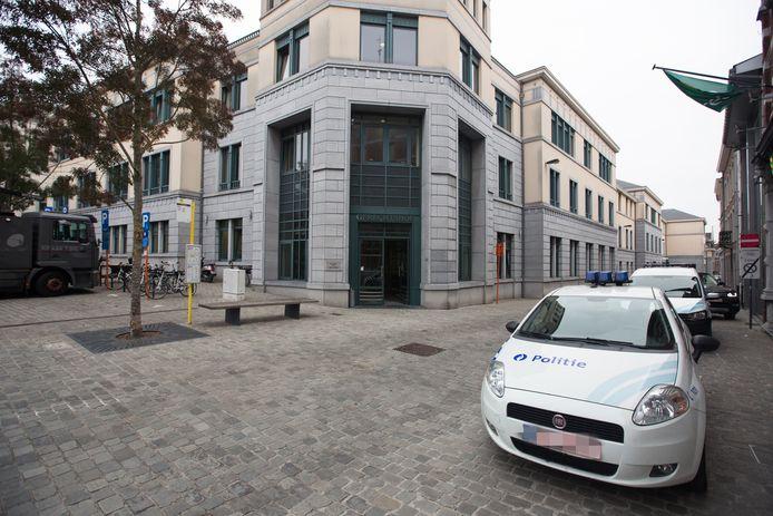 De strafrechtbank in Tongeren.