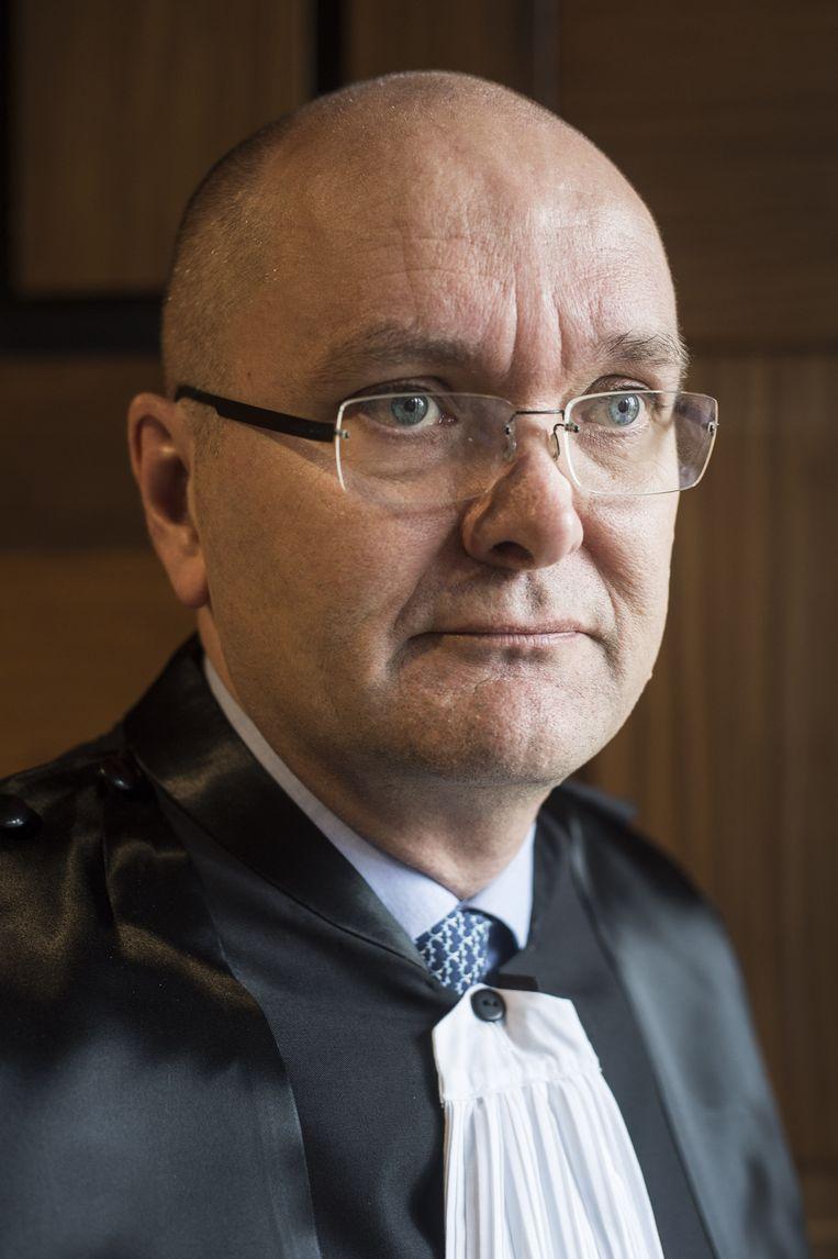 Brugs politierechter Peter Vandamme vraagt zich af of je de 'kaduke strafuitvoering' niet beter als 'wan-uitvoering' omschrijft. Beeld ID/ photo agency