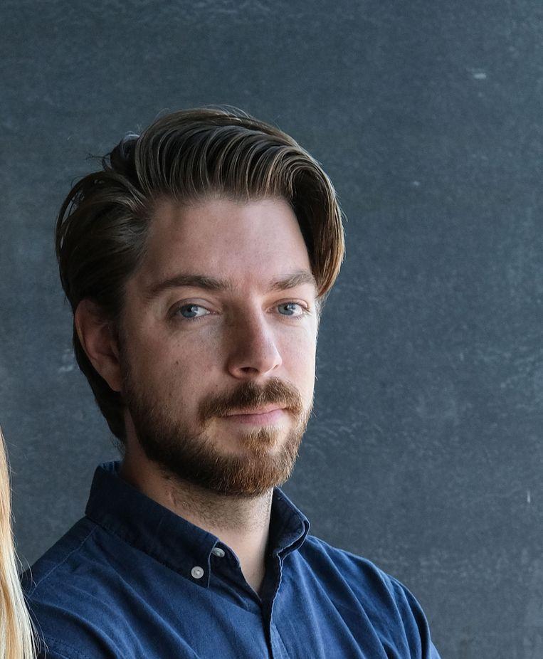 Volkskrantjournalist Joost de Vries. Beeld Rowin Ubink