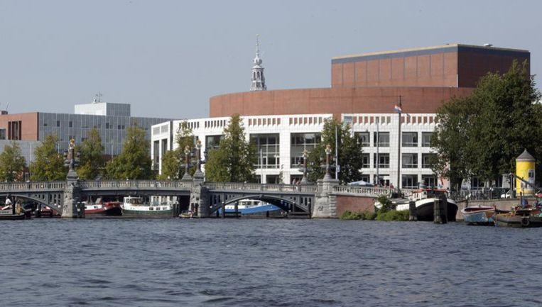 De Stopera, het gementehuis van Amsterdam. Foto ANP Beeld
