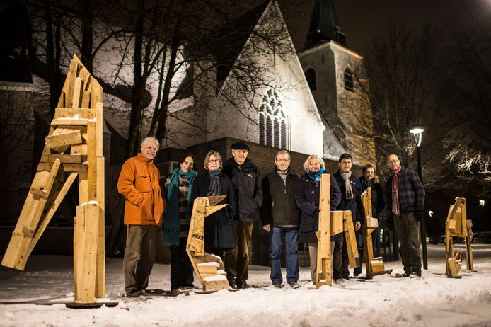De organisators van een van de vorige edities van AchterGlas.