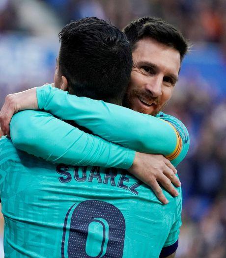 """Messi tacle les dirigeants du Barça lors de ses adieux à Suarez: """"Plus rien ne me surprend"""""""
