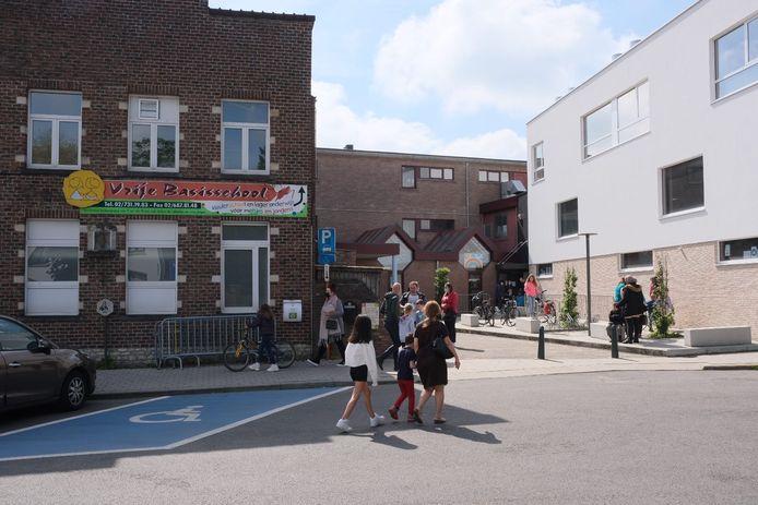 In de Vrije Basisschool in Sterrebeek moesten alle leerlingen van de lagere school vrijdag getest worden.