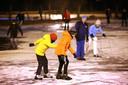 Archieffoto - De schaatsbaan van IJsvermaak aan de Bouvignelaan in 2018.