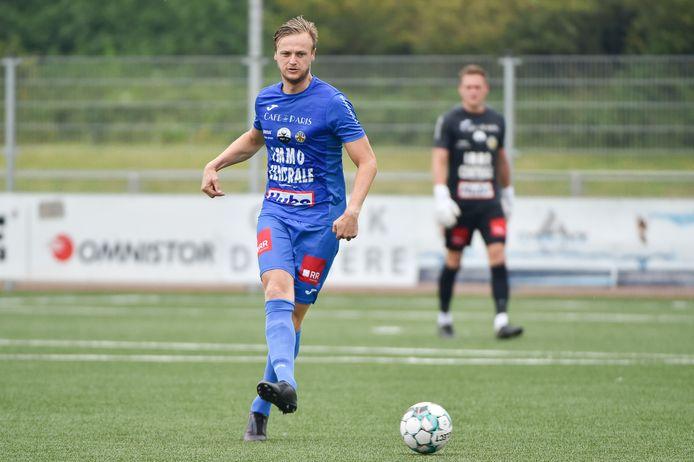 Gertjan Martens en Knokke spelen zondagmiddag thuis tegen Rupel Boom.