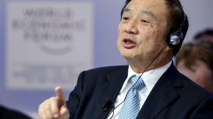 """Oprichter telecomreus: """"Huawei zal niet bezwijken onder Amerikaanse druk"""""""