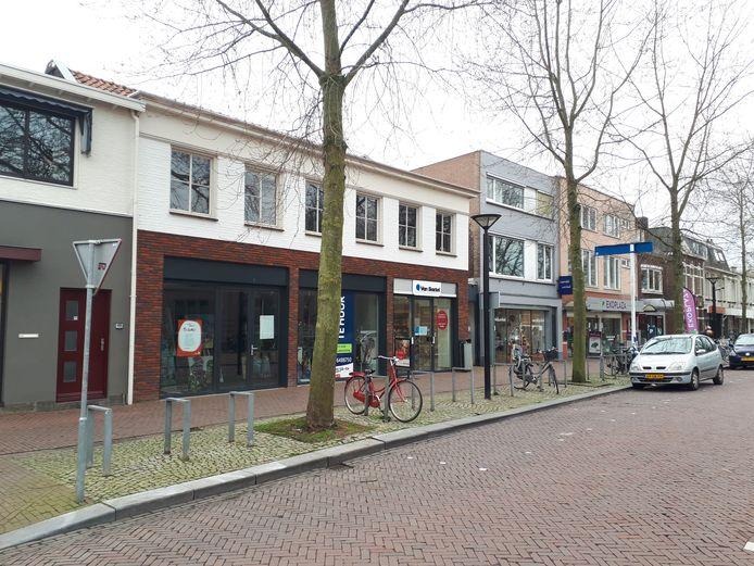 Het winkelpand aan de Kruisstraat in Oss waar De Firma Streek zich vestigt.