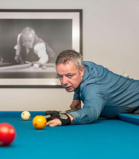 Dick Jaspers staat al 35 jaar aan de biljarttop: 'Blomdahl heeft in al die jaren het beste in mij naar boven gebracht'