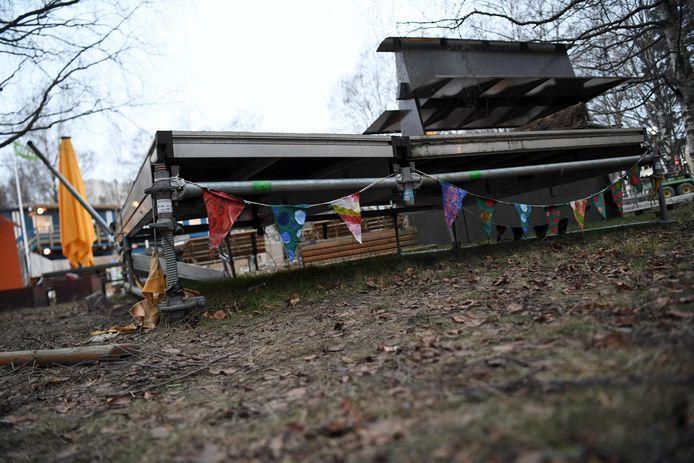 Tempatnya berada di Koskela Park pada 9 Desember 2020, beberapa hari setelah kejadian.