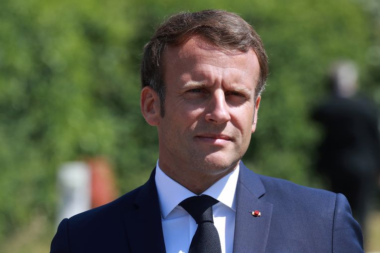 Macron zou onder druk staan om zijn gezicht snel te laten zien.