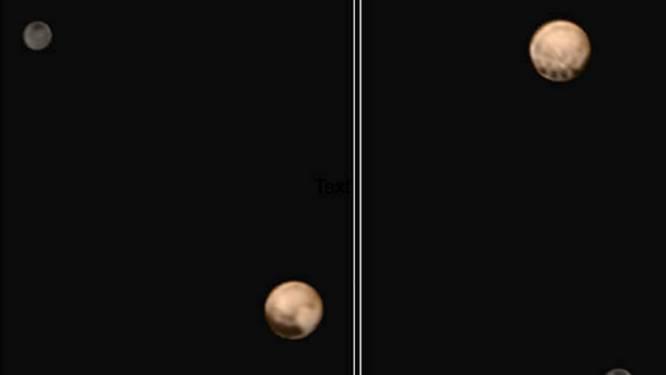 NASA ontdekt vier vreemde vlekken op Pluto