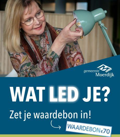 Nieuwe oproep aan huizenbezitters Moerdijk: 'Verzilver waardebonnen à 70 euro'